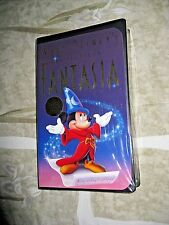 Fantasia 1942  VHS NEW SEALED Walt Disney's Masterpiece 1132 Rare OOP