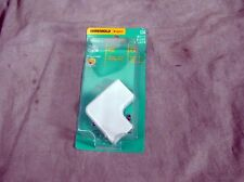 Lot of 23 WireMold Cordmate II White Flat Elbow C56 NEW