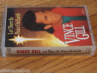 Let There Be Peace on Earth by Vince Gill Cassette tape 1993, MCA USA RARE