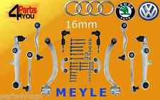 AUDI A6 VW PASSAT B5 SUPERB FULL front suspension control arms kit SET 00- MEYLE