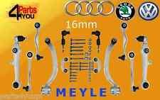 AUDI A6 VW PASSAT B5 SUPERB FULL front suspension control arms kit SET 00- MEYLE