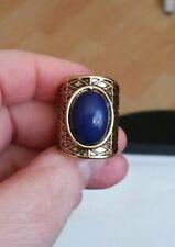 Gilt coloured long ring
