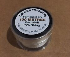 100m Spool Of top Quality PVA String, Not Tape, Refill Or Bags. Massive Spool