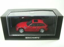 Bmw Z3 m Coupe 2002 1/43 Minichamps (imola red)