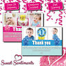 Personalised Kids Birthday Party Thank You Cards A6 (TH1)