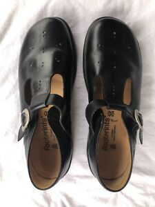Footprints by Birkenstock Mary Jane Shoes 9 40 Used Black Leather