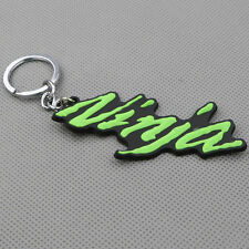 Motorcycle Rubber Keyring Keychain Key Chain Key Ring For KAWASAKI NINJA Green
