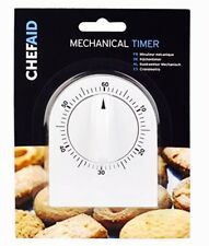 NEW Chef Aid Mechanical Cooking Timer - White Colour