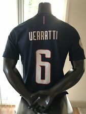 Nike PSG Paris Saint-Germain Jersey 2016 & Shorts Authentic  M Verratti Shorts