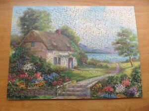 VINTAGE VICTORY WOODEN JIGSAW PUZZLE - Fragrance Sweetest In The Dewy Morn
