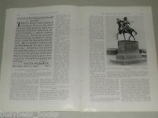 1929 magazine articles, The SANTA FE TRAIL, color photos, history  SW USA