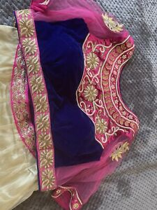 party wear lehenga Small Size With Shawl