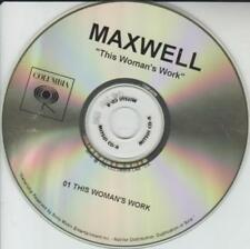 Maxwell: This Woman's Work PROMO MUSIC AUDIO CD Columbia Kate Bush Funk Soul