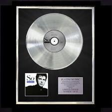 PETER GABRIEL (GENESIS) SO  CD PLATINUM DISC VINYL LP FREE SHIPPING TO U.K.