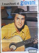 Poster Manifesti di GIOVANI 1967 73x50 cm - ADAMO  [D39-96]