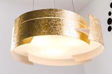 Lampe à suspension Design Moderne Lustre Plafonnier Lampe pendante dorée 129128