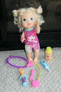 Hasbro Baby Alive 2012 Interactive Medical Kit Bilingual Eng/Fr Talking Doll