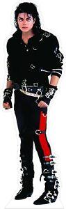 "Michael Jackson - Bad - 72"" Tall Life Size Cardboard Cutout Standee"