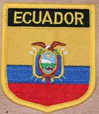 Ecuador Shield Country Flag Embroidered PATCH Badge P1