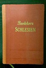 Baedeker SCHLESIEN Reisehandbuch 1938