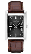 New Caravelle by Bulova Men's Analog Display Japanese Quartz Brown Watch 43A119