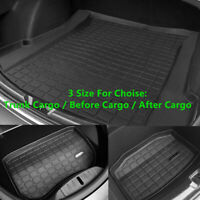 Trunk Cargo / Before Cargo / After Cargo TPE Durable Mat  For Tesla Model 3 2019