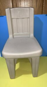 Step 2 Lifestyle Dining Room Chair Tan Kid Toddler Child-Size Sturdy Plastic