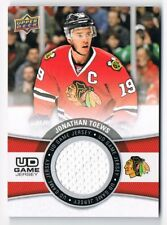 2015-16 Upper Deck UD Game Jersey Series 1 #GJ-TO Jonathan Toews SP !! GROUP B