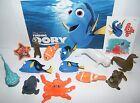 Disney Finding Dory Movie Deluxe Figure Set of 14 Toy Kit with Dory Nemo Etc