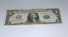 2013 $1 One Dollar Bill US Note 3-46s 1-41 3-64s 46464641 Fancy Serial Number #