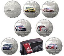 2018 Holden Motorsport High Octane Car 50c 7 Coins Complete Set