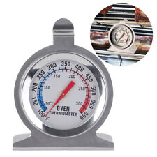 Stainless Steel Oven Cooker Thermometer Temperature Gauge Quality 300ºC BBQ
