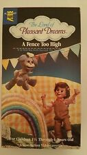 "RARE Land of Pleasant Dreams ""A Fence Too High"" live-action VHS Agapeland Video"
