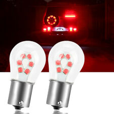 2pcs Canbus 1156 P21w Led Brake Stop Light 3030 12 Smd Tail Parking Bulbs Lamp