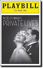 Kim Cattrall & Paul Gross Playbill Private Lives Opening Night Anna Madeley 2011