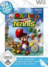 Nintendo Wii +Wii U  MARIO POWER TENNIS mit 18 Charakteren Neuwertig