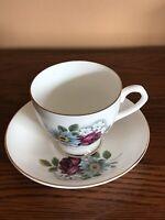 Vintage Elizabethan Fine Bone China England Tea Cup & Saucer