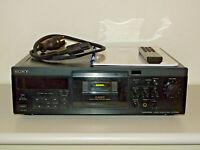 Sony TC-KA6ES High-End Tape Deck Schwarz, generalüberholt, FB&BDA, 2J. Garantie