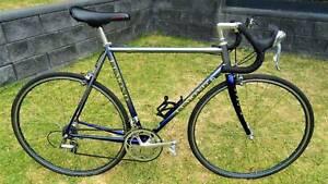 Mens road bike steel frame Lemond Zurich LARGE size 57 1996 top tube 57.5cm