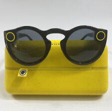 Snap Inc. Snapchat Spectacles Glasses black w/ charging case and cord