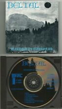 BELIAL (Fin) : WISDOM OF DARKNESS MCD 1992 LETHAL RECORDS ORG 1ST PRESS MYTHOS