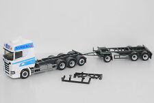 1:87 em3294 Herpa Scania Wiek Hambourg Conteneur Hz 4a/3a Transformation autoconstruction