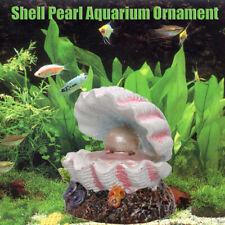 Pearl Shell Air  Stone Fish Tank  Aquarium Ornament Air Stone Decor uk