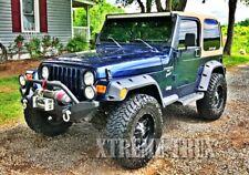 """97-06 Jeep Wrangler TJ LJ Unlimited 7"""" Rugged Off Road Pocket Fender Flares"""