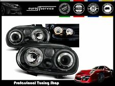 FARI ANTERIORI HEADLIGHTS LPVW70 VW GOLF IV 1997-2000 2001 2002 2003 ANGEL EYES