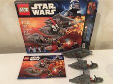 LEGO 7957 Star Wars Sith Nightspeeder - Incomplete w/ Instructions & Box