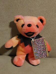 """Liquid Blue Grateful Dead Bean Bear Lil Sugar Stuffed Plush 5"""""""