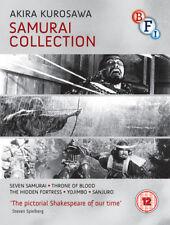 Kurosawa Samurai Collection Blu-Ray (2014) Takashi Shimura, Kurosawa (DIR) cert