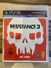 Resistance 3 - Sony PlayStation 3 - PS3 - OVP