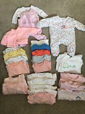 3-5lbs 5-8lbs Tiny Baby bebés prematuros Prem Babygrow Rosa Azul 100/% algodón